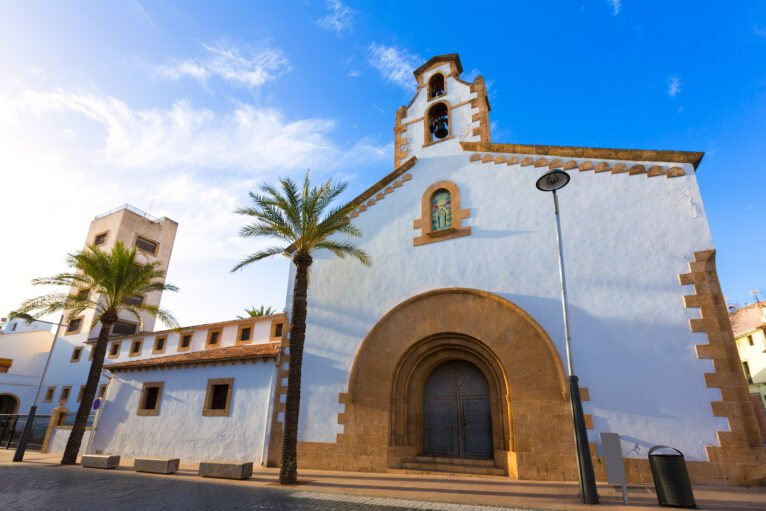 Convento de las Agustinas en la Placeta del Convent de Xàbia