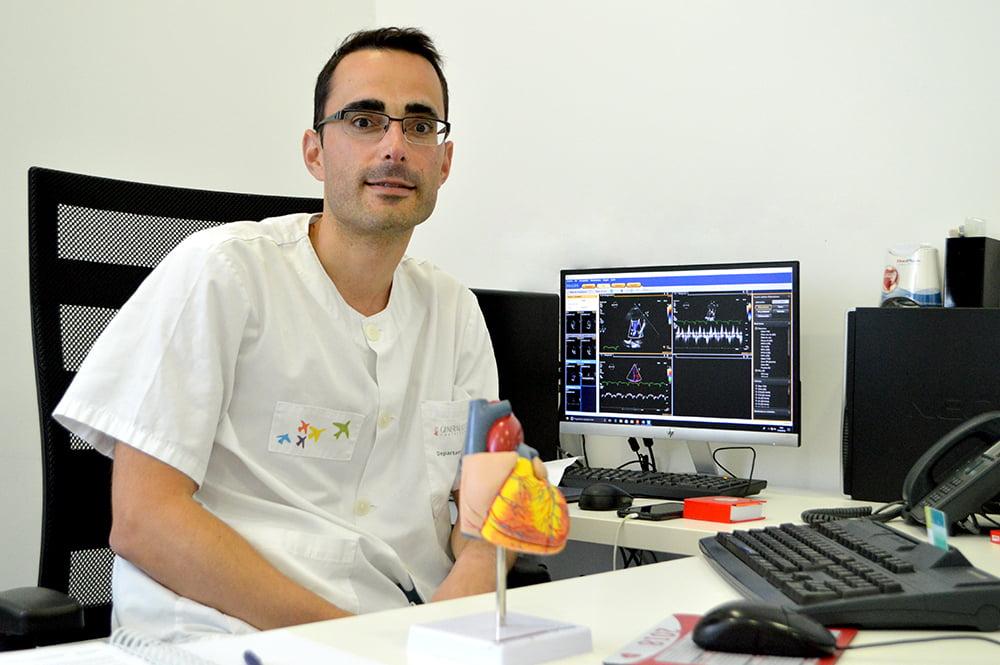 Alfonso Valle, Jefe del Servicio de Cardiología del Hospital de Dénia