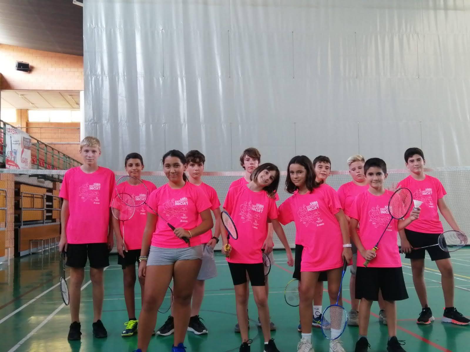 Grupo de alumnos en Escoles Esportives Xàbia