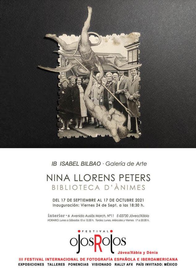 Imagen: Cartel de la exposición de Nina Llorens