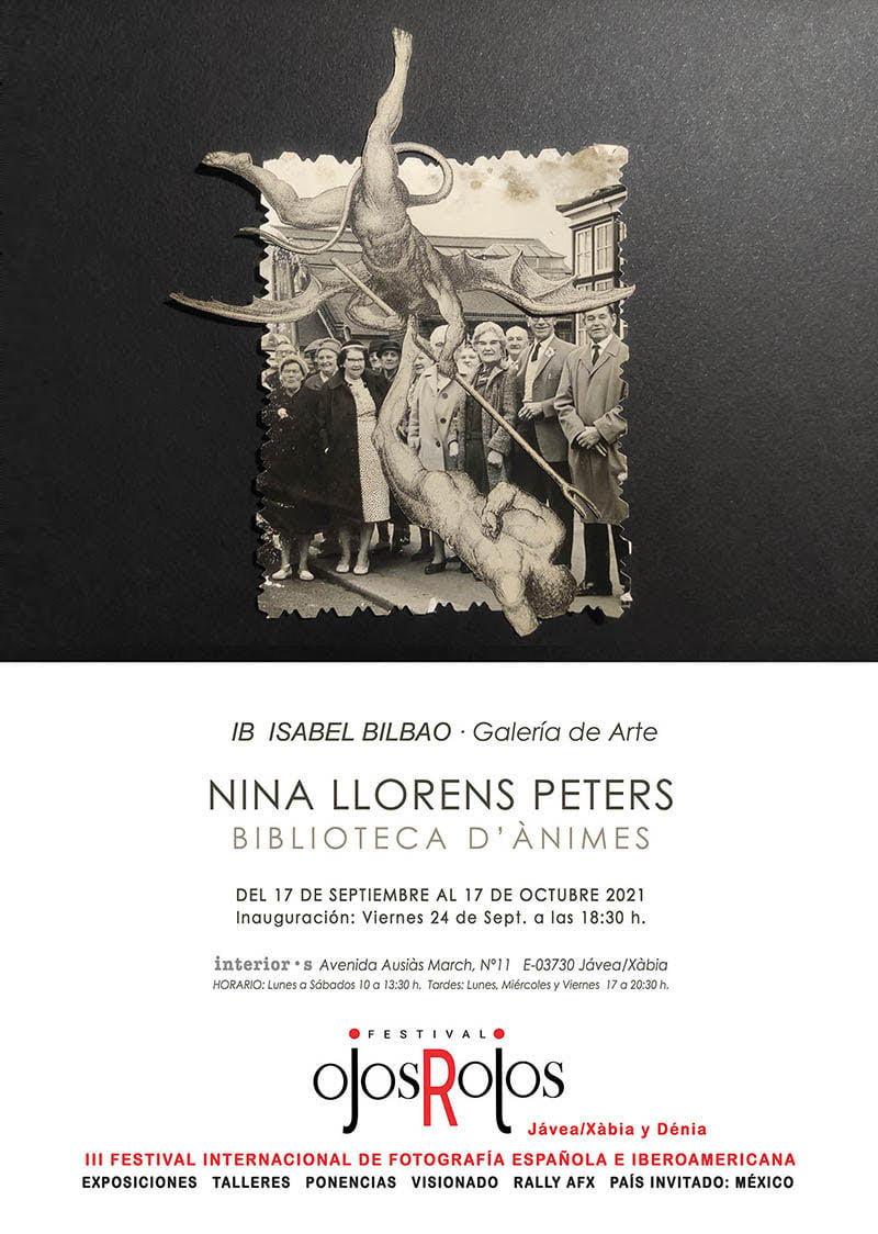 Cartel de la exposición de Nina Llorens