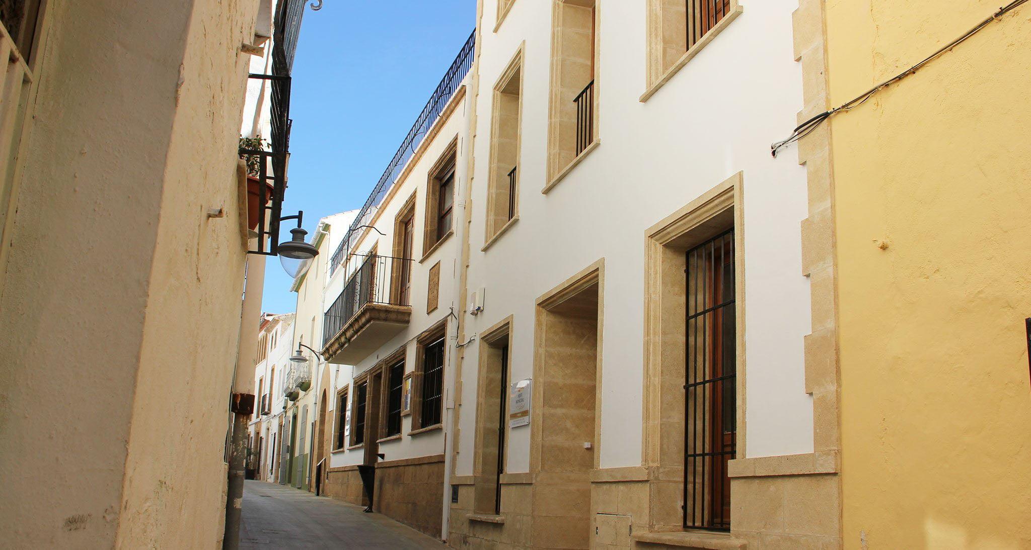 Fachada del Archivo Municipal