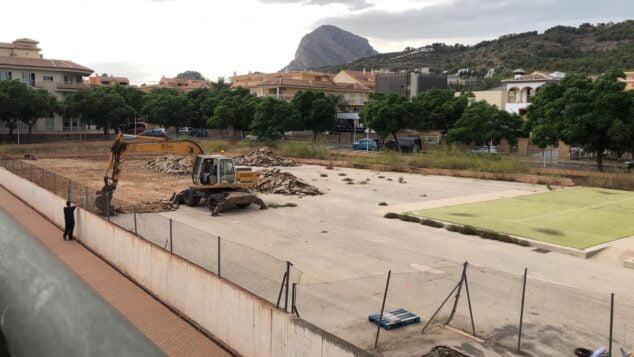 Imagen: Inici obres piscina Xàbia (2)