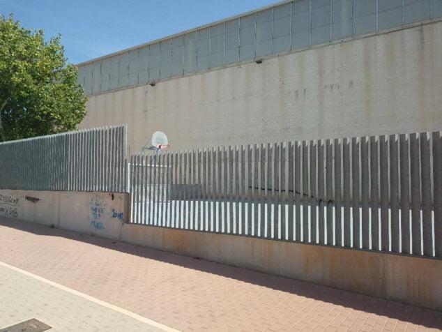 Imagen: Instalaciones exteriores del recinto deportivo del Frechinal