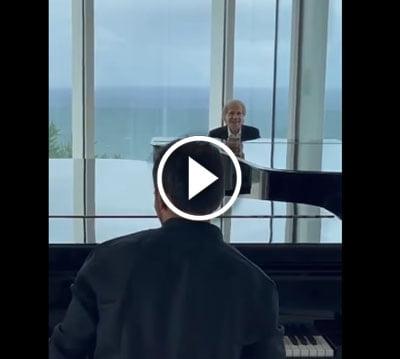 Interpretación de la Balada de Adelina por Richard Clayderman