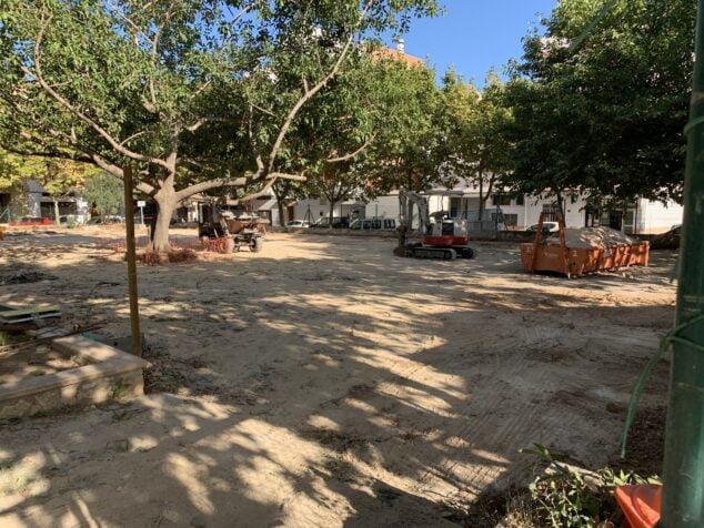 Imagen: Obras de remodelación de Parque del Freginal