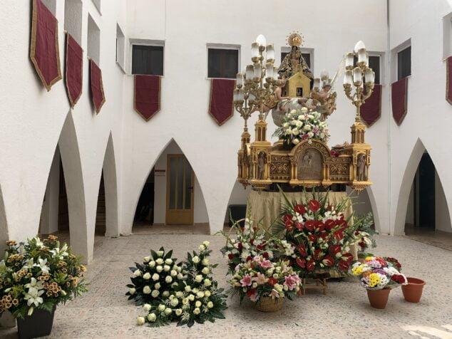 Imagen: Ofrenda Mare de Déu de Loreto 2021