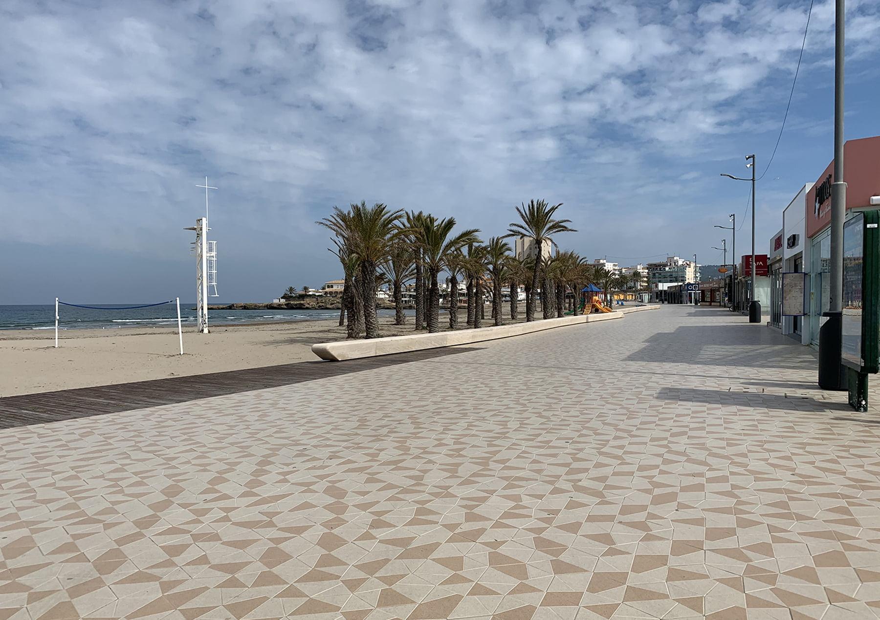 Paseo del Arenal de Xàbia