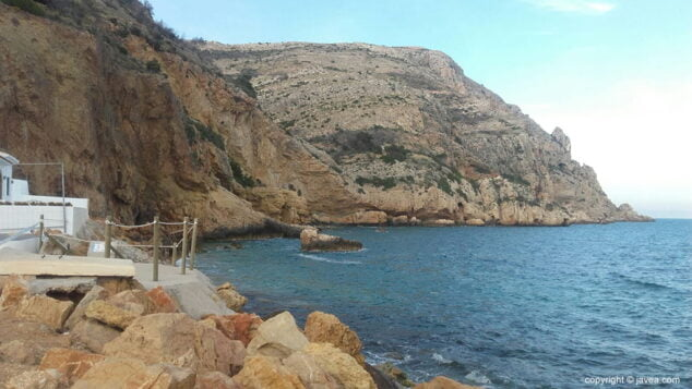 Imagen: Playa del Tangó de Xàbia