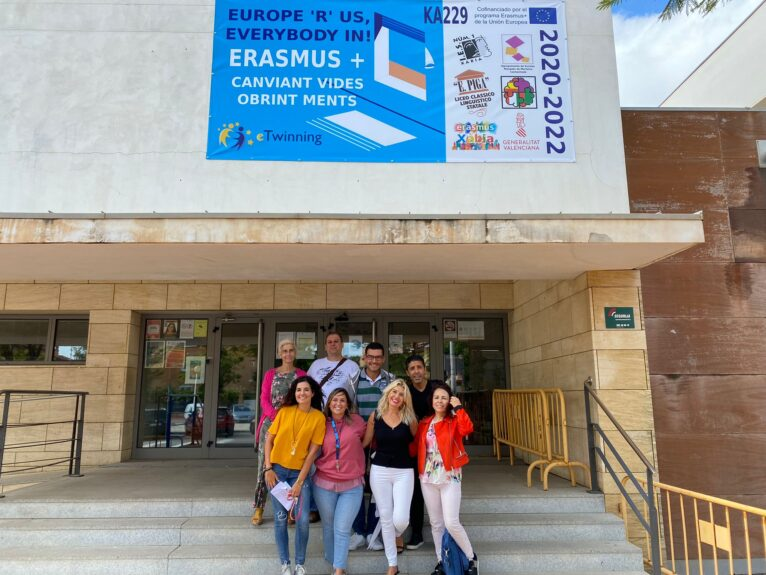 Programa Erasmus + del IES Nº1 de Xàbia