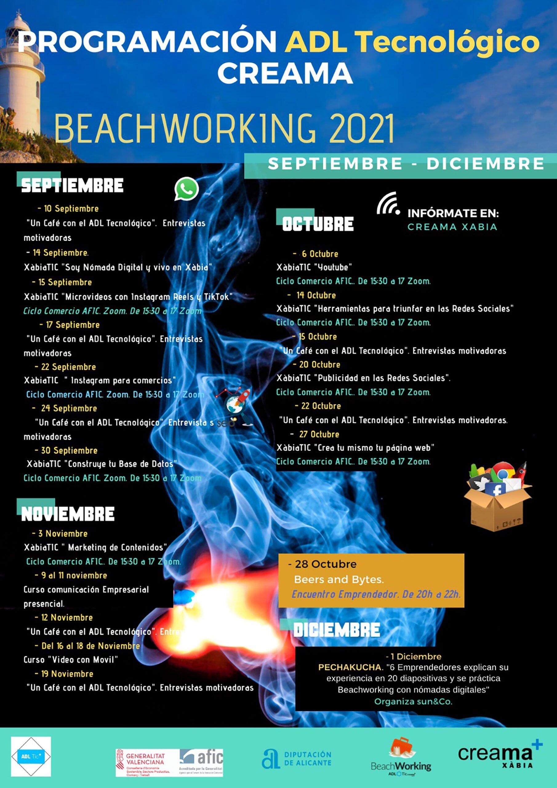 Programación del Beachworking 2021