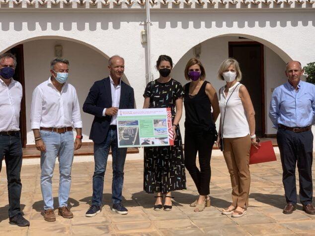 Imagen: Presentación del proyecto de mejora del Club Náutico Jávea
