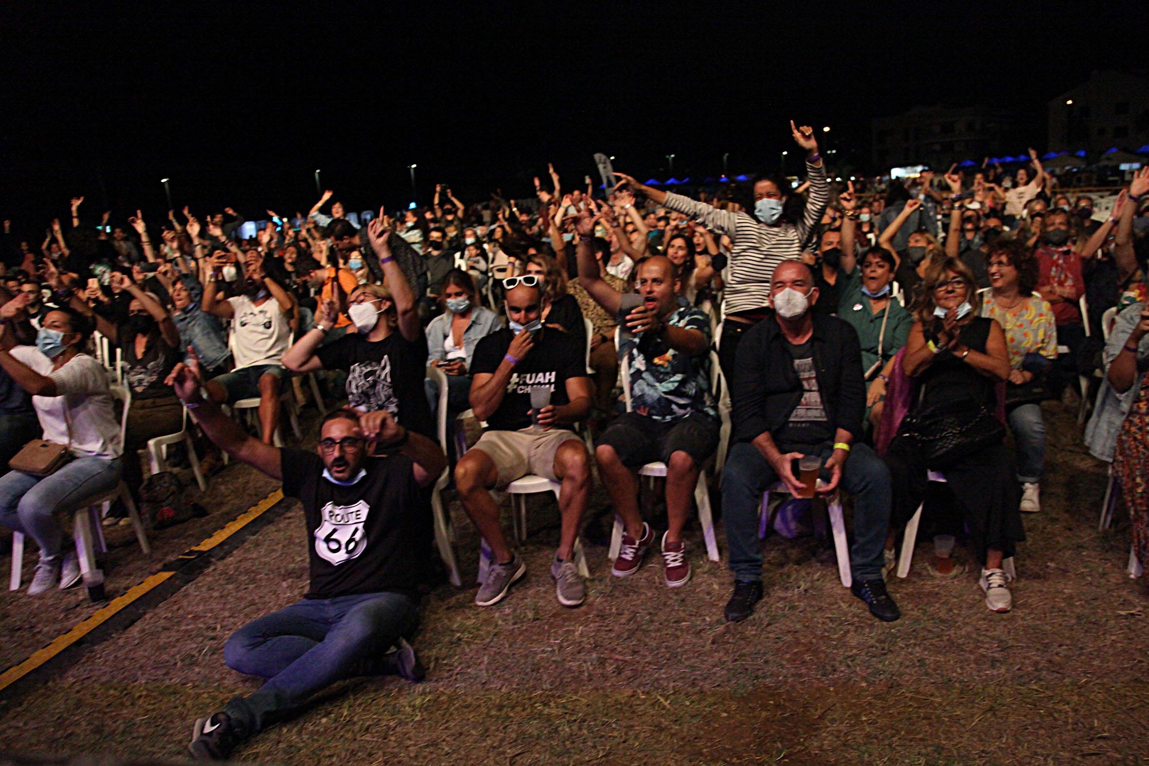 Público en el Montgorock Xàbia Festival 2021
