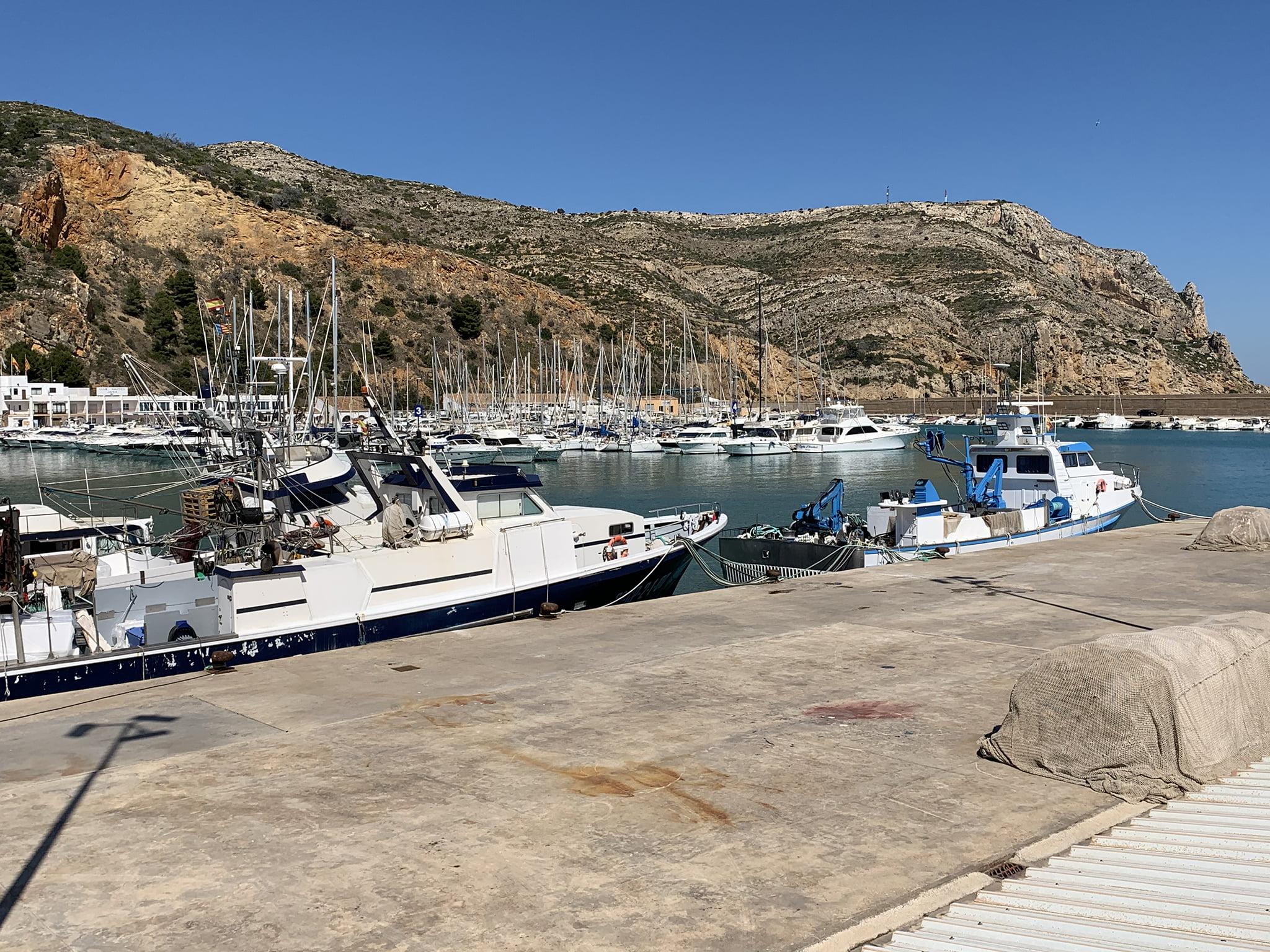 Puerto pesquero y deportivo de Xàbia