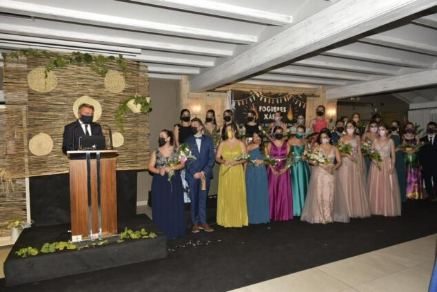 Imagen: Quintos de 2020 en el recién celebrado acto de presentación