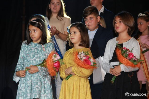 Imagen: Reina y damas infantiles elegidas para 2020