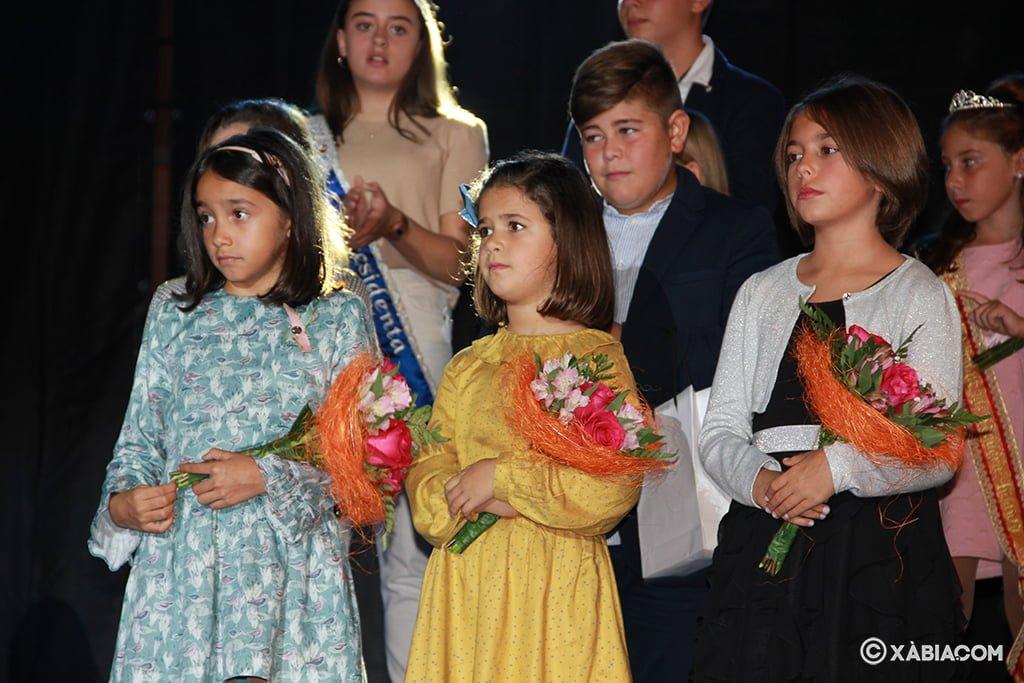 Reina y damas infantiles elegidas para 2020