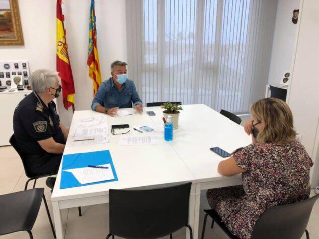 Imagen: Reunión de coordinación