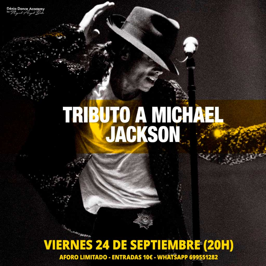 Tributo Michael Jackson – Centro-Deportivo Denia