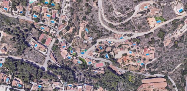 Imagen: Vista aérea partida Castellans