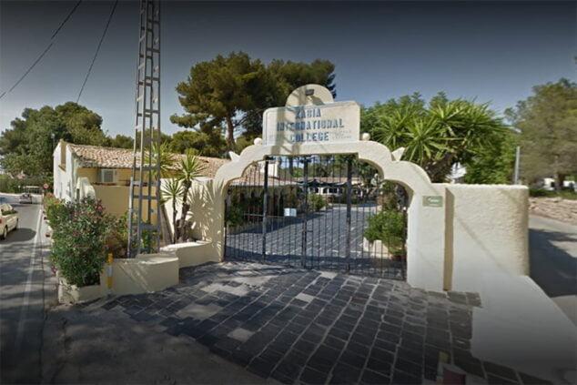 Imagen: Fachada del edificio infantil del Xabia International College