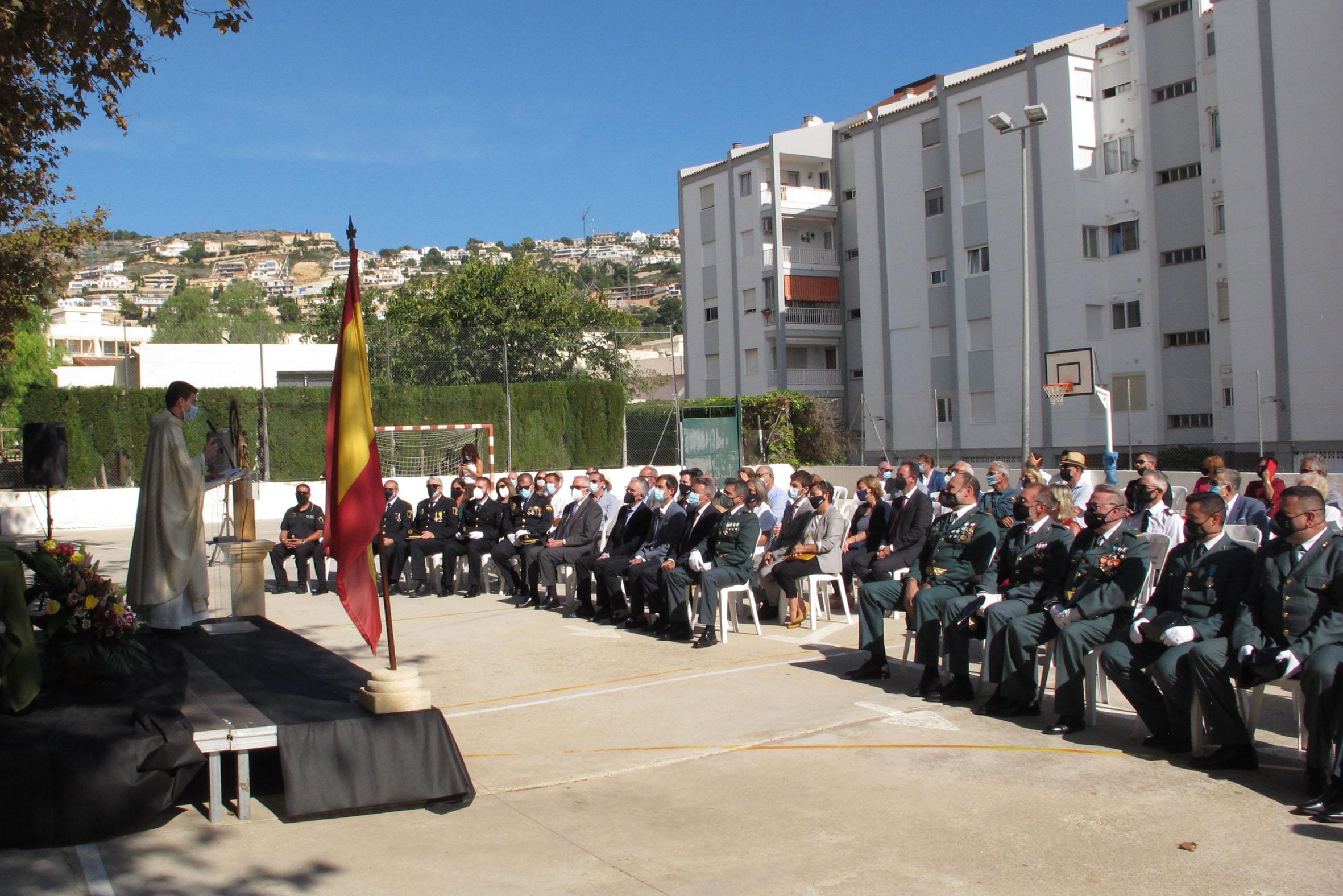 Acto de la Guardia Civil en el día del Pilar