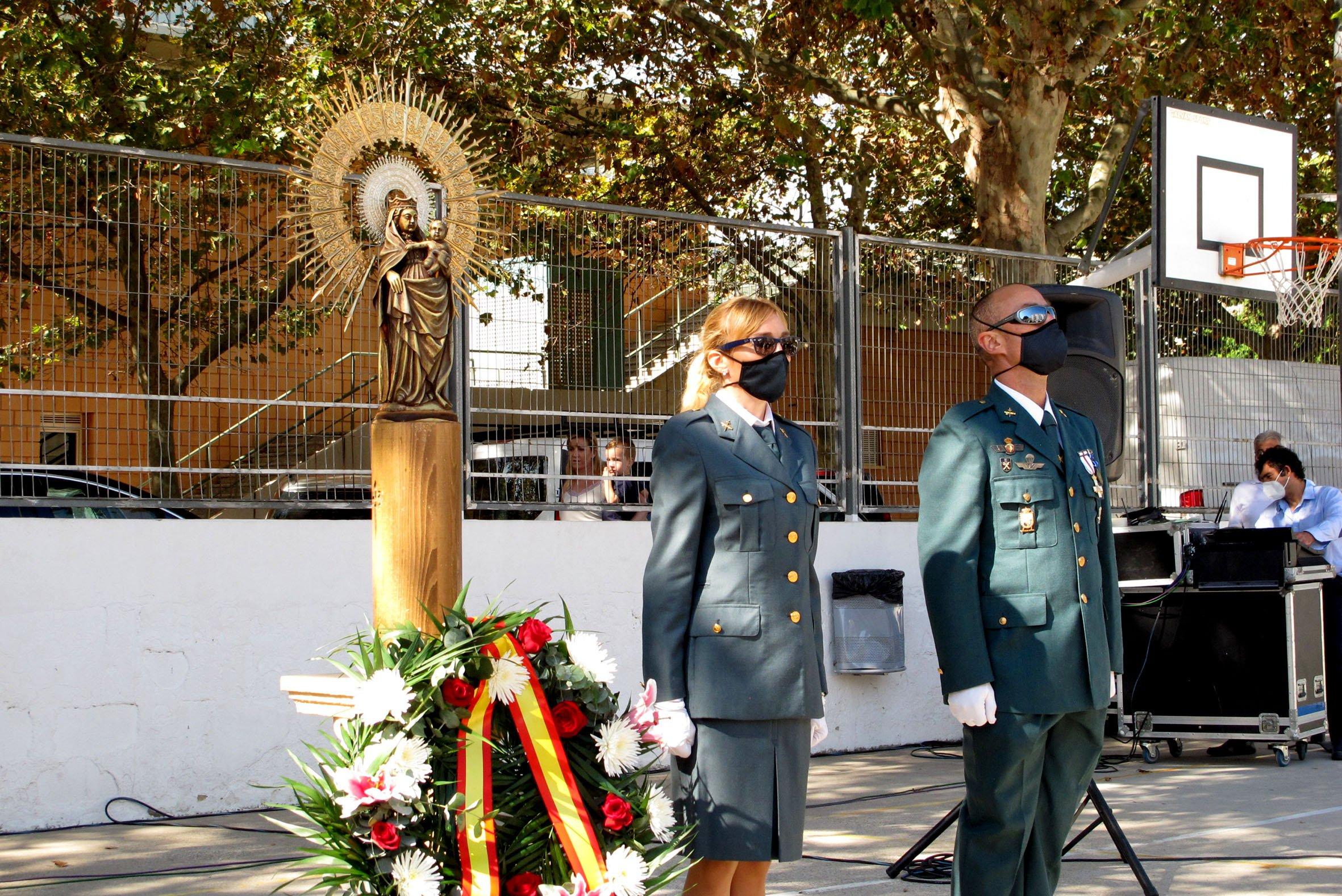 Acto de la Guardia Civil en el día del Pilar (35)