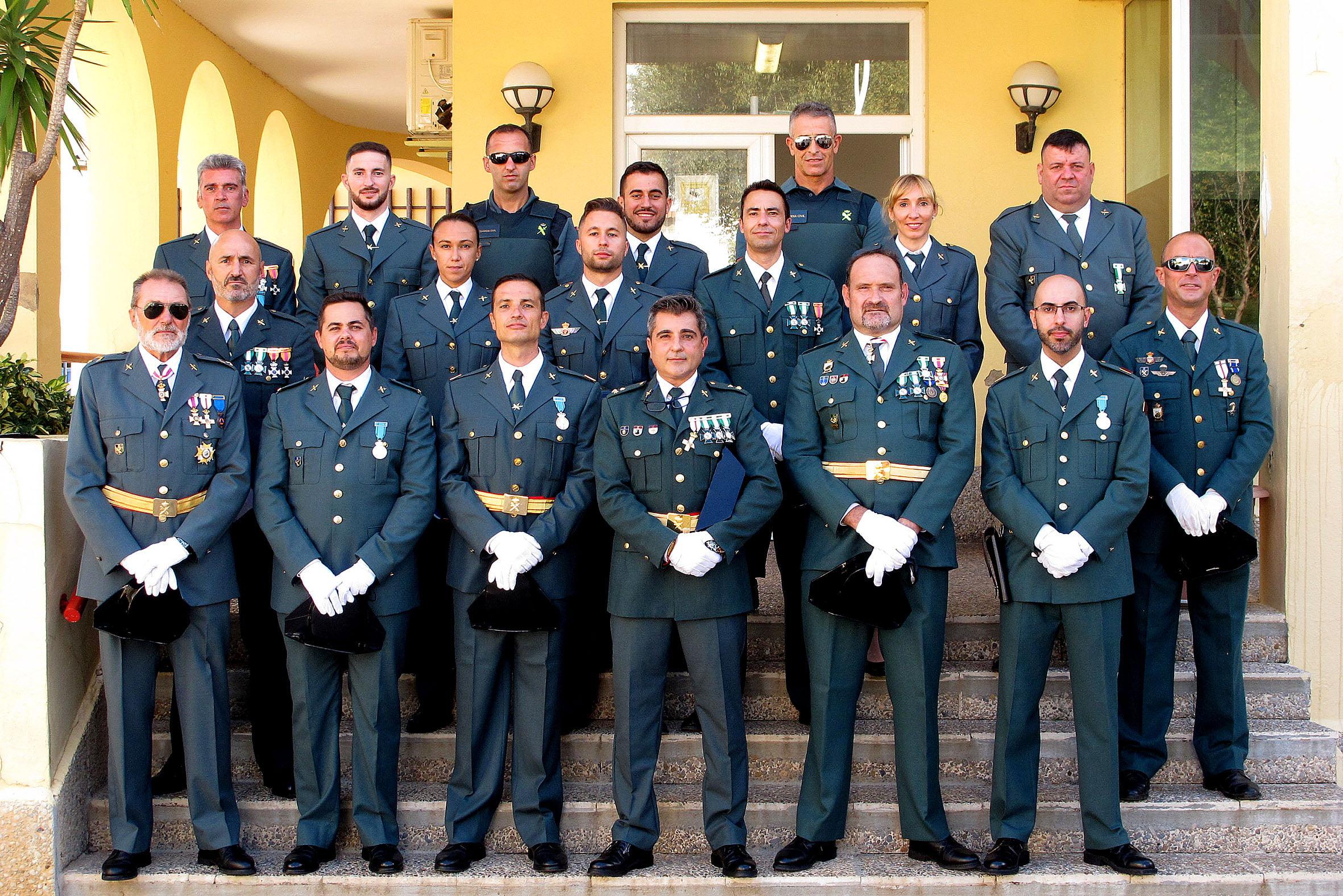 Acto de la Guardia Civil en el día del Pilar (45)
