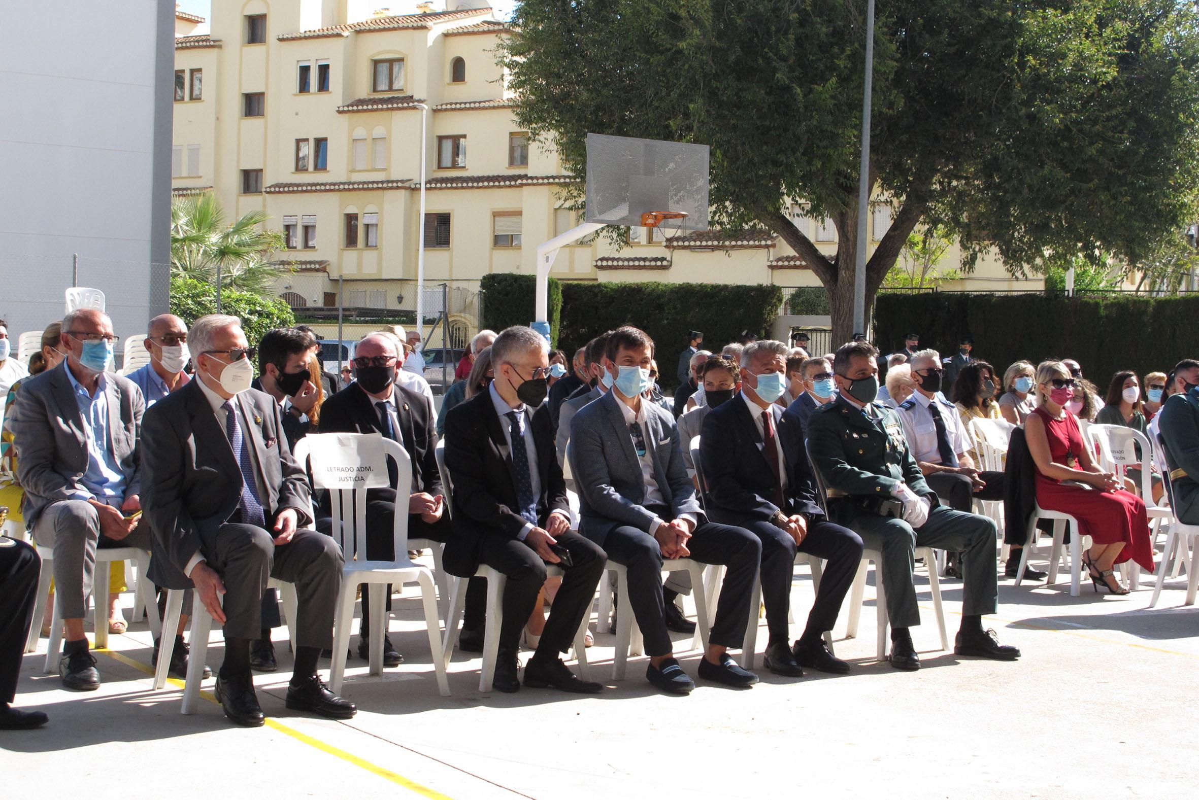 Acto de la Guardia Civil en el día del Pilar (5)