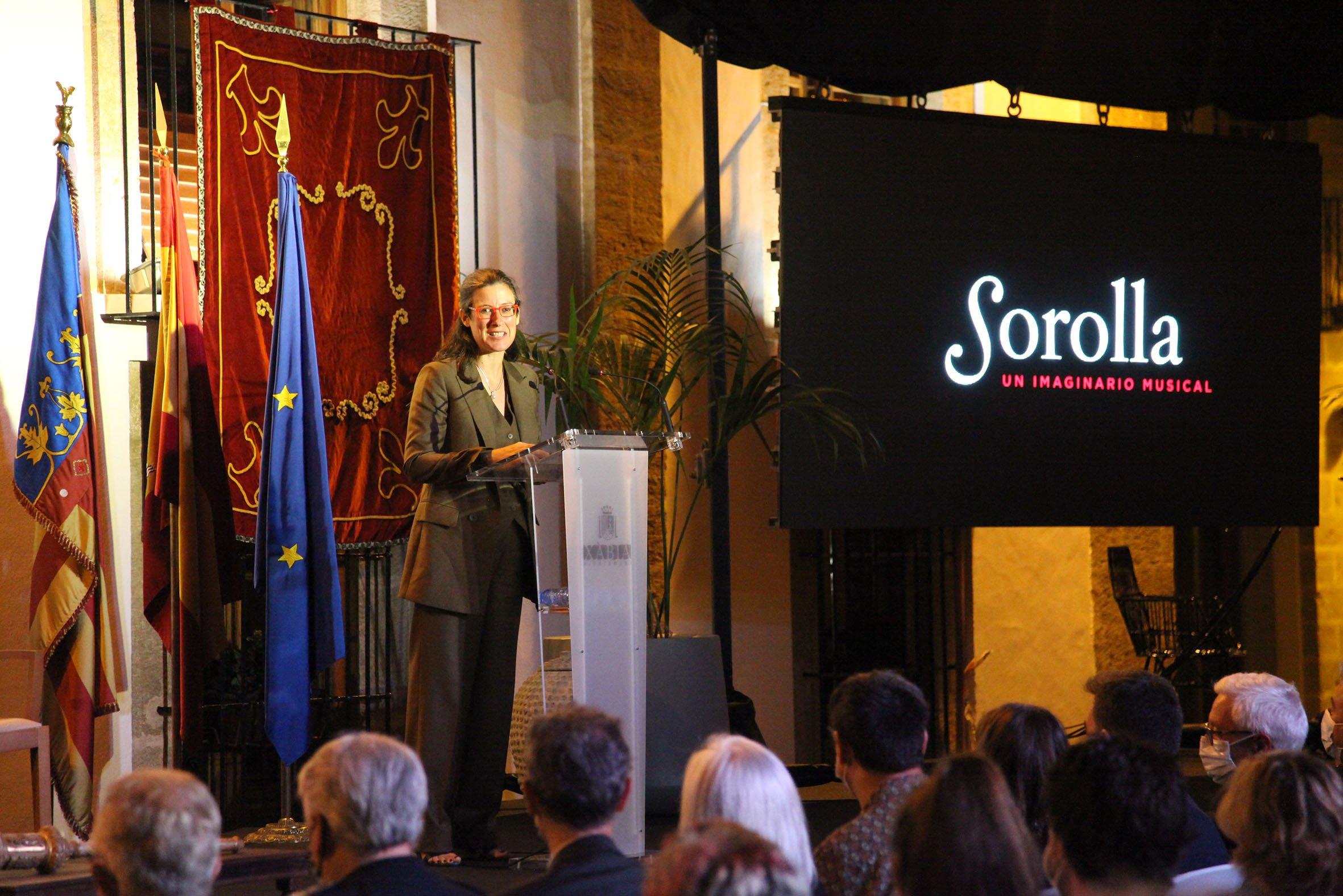 Acto institucional 9 d'octubre-Premi Vila de Xàbia a Fundación Museo Sorolla (29)