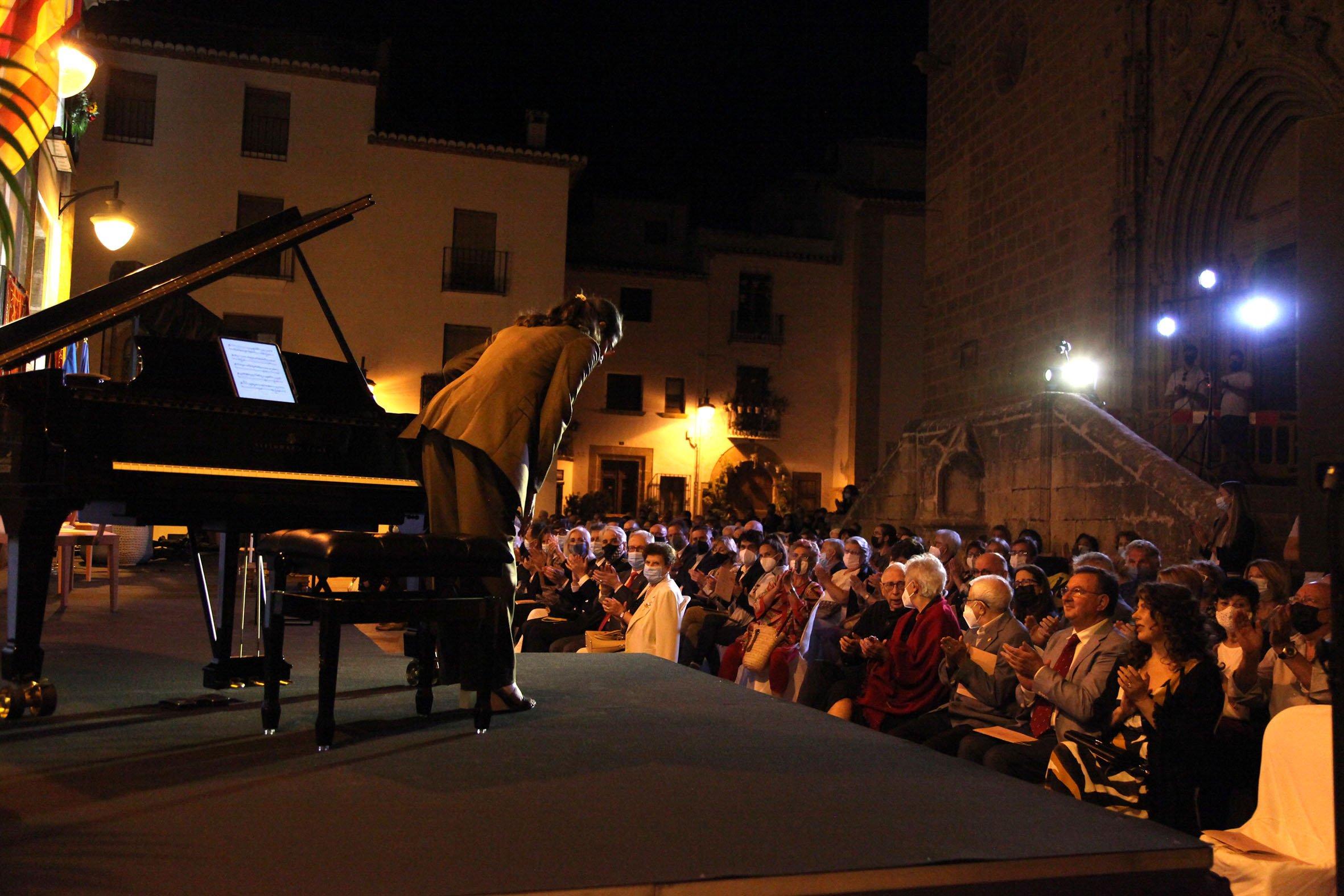 Acto institucional 9 d'octubre-Premi Vila de Xàbia a Fundación Museo Sorolla (43)