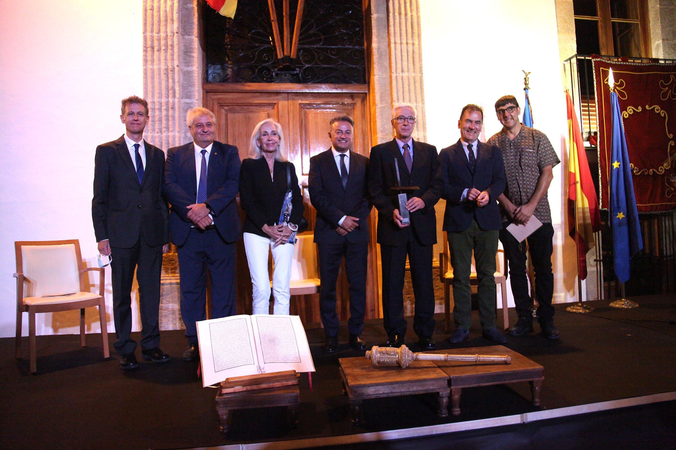 Acto institucional 9 d'octubre-Premi Vila de Xàbia a Fundación Museo Sorolla (48)