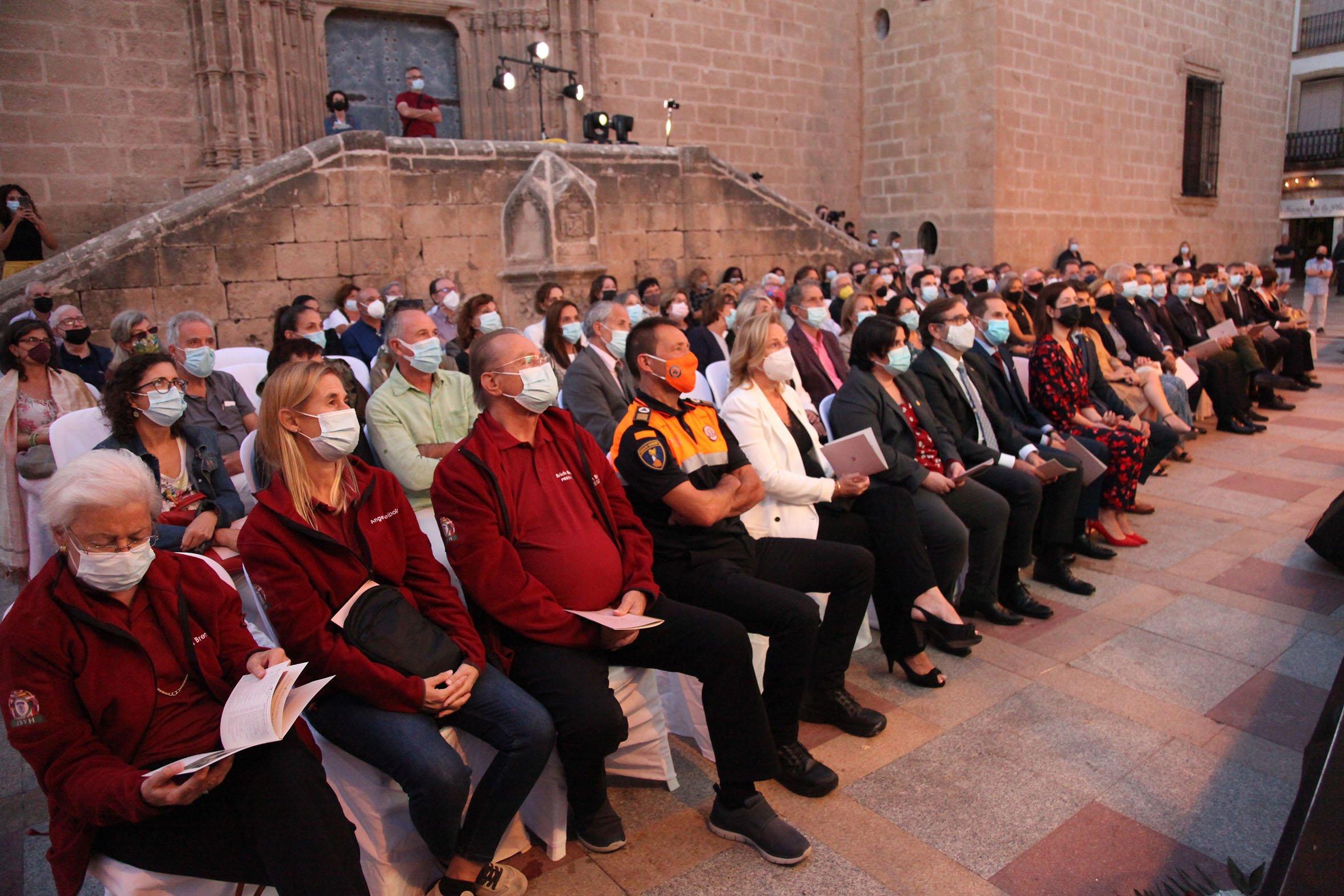 Acto institucional 9 d'octubre-Premi Vila de Xàbia a Fundación Museo Sorolla (9)