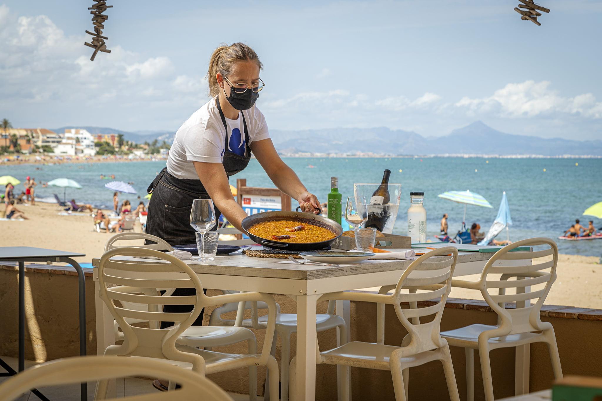 Arroces a primera línea de playa en Restaurant Noguera
