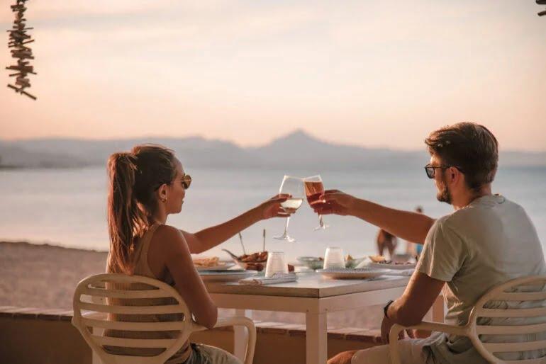 Cenar al lado del mar en Restaurant Noguera