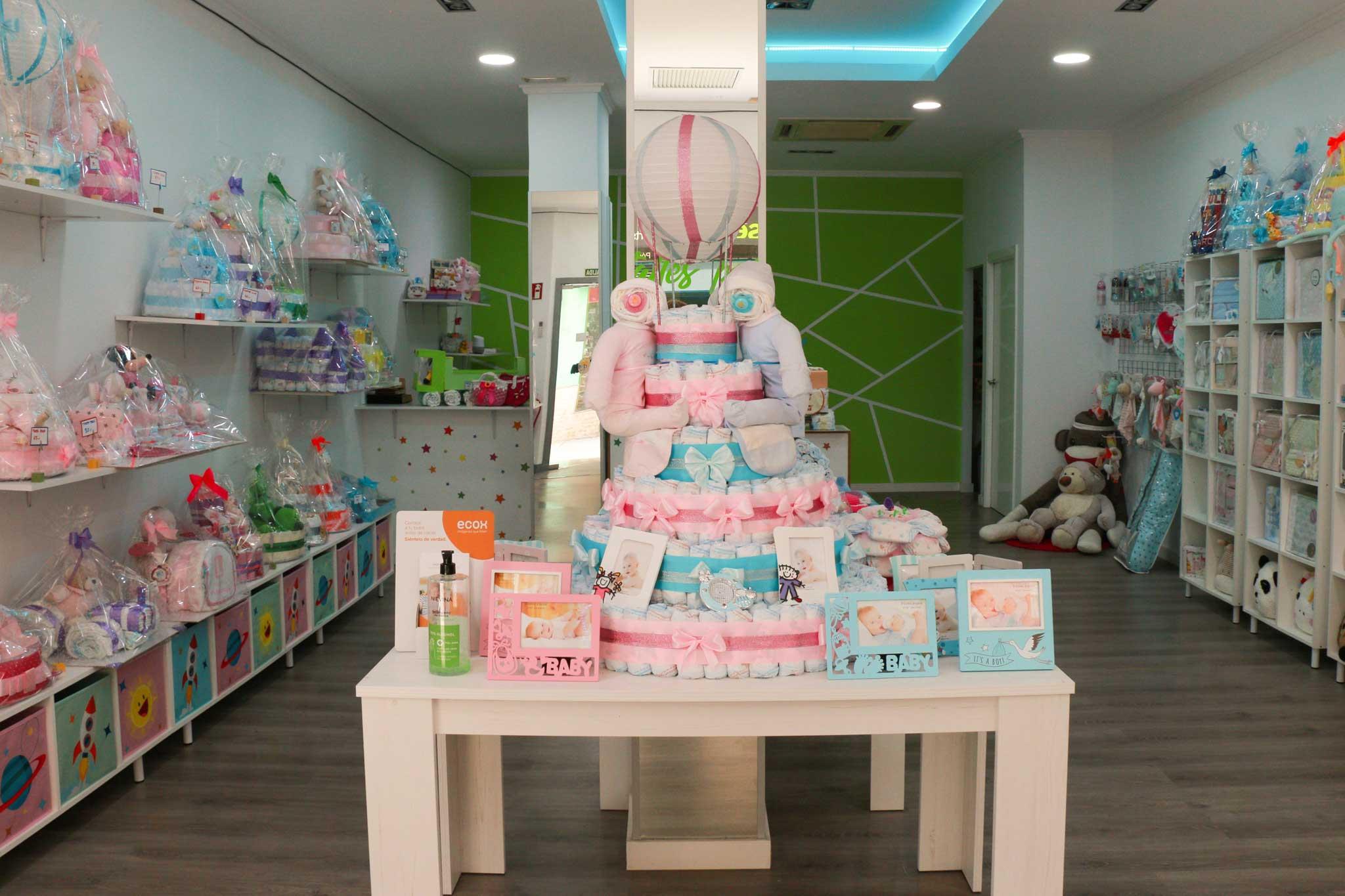 Cestas pañales personalizadas Denia – Detalles para el bebe