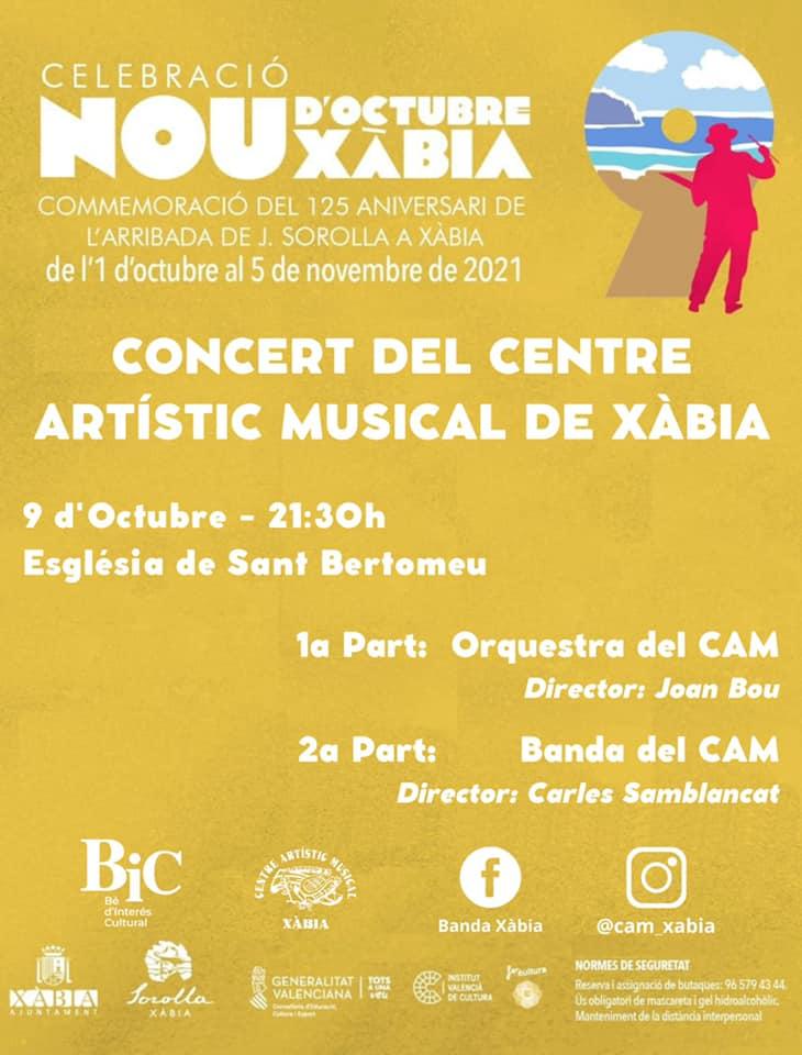 Concierto del Centre Artístic Musical de Xàbia
