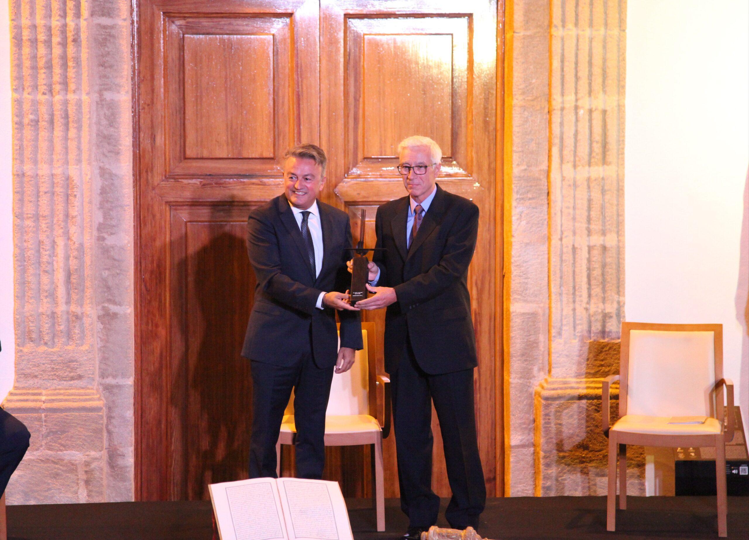 Entrega del Premio Vila de Xàbia a la Fundación Museo Sorolla