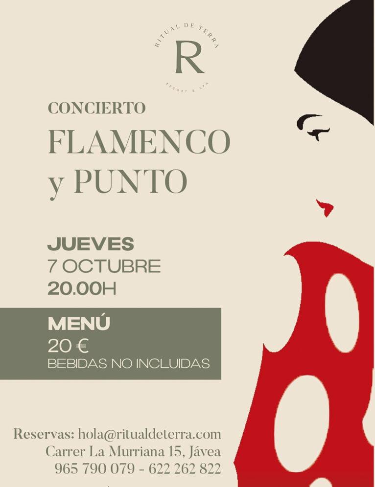 Flamenco y Punto en Hotel Ritual de la Terra Resort Spa