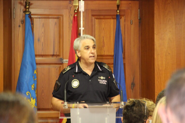 José Antonio Monfort, Intendente Jefe de la Policía Local