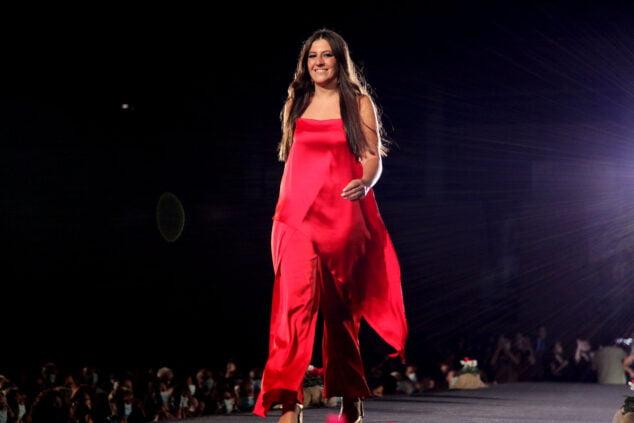 Imagen: Olivia Clemente, Reina de la Foguera 2022