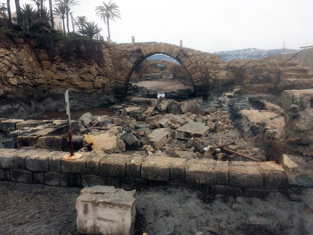 Ruinas del yacimiento romano del Arenal