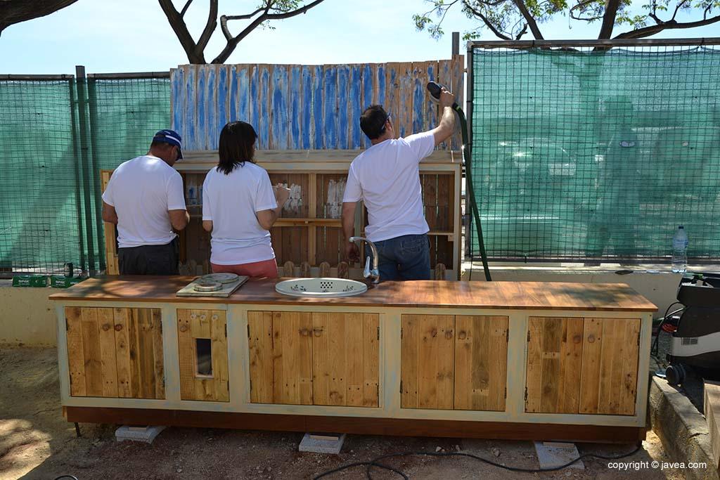 Nuevo Patio colegio Trenc d'Alba