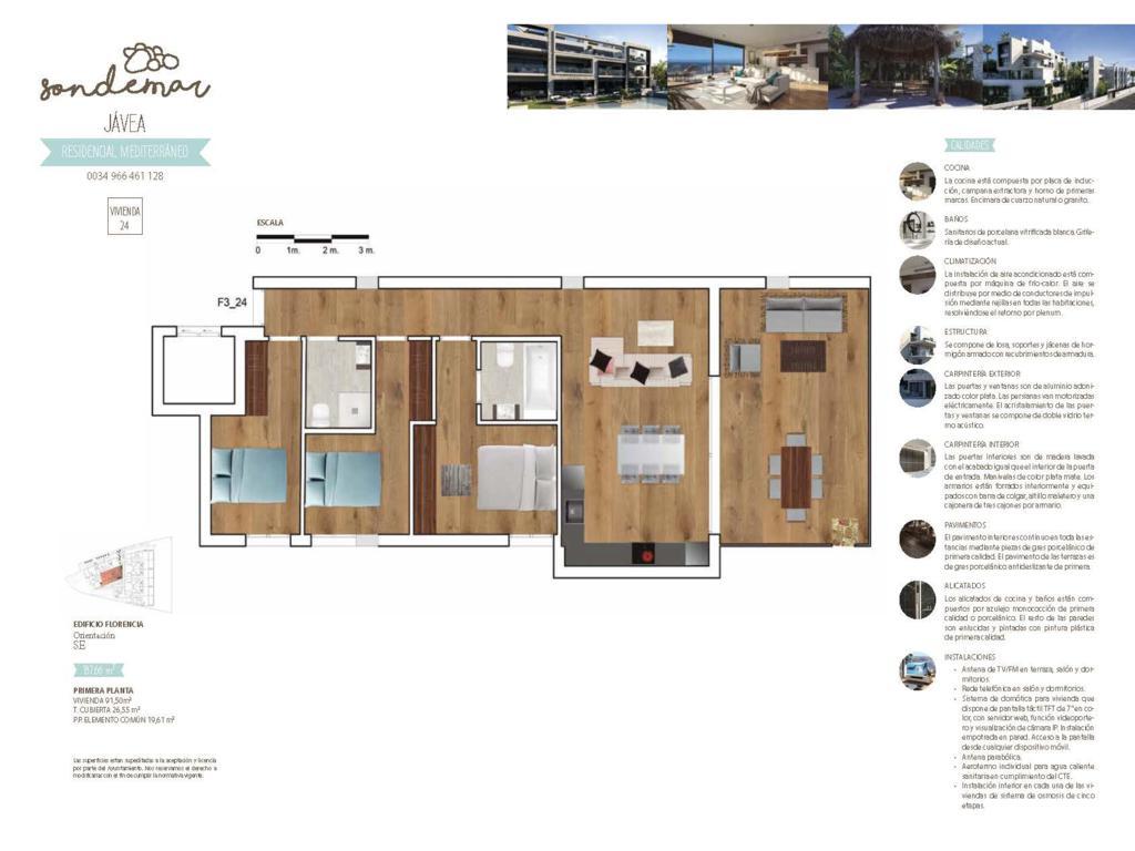 Planos Son de Mar Atina Inmobiliaria